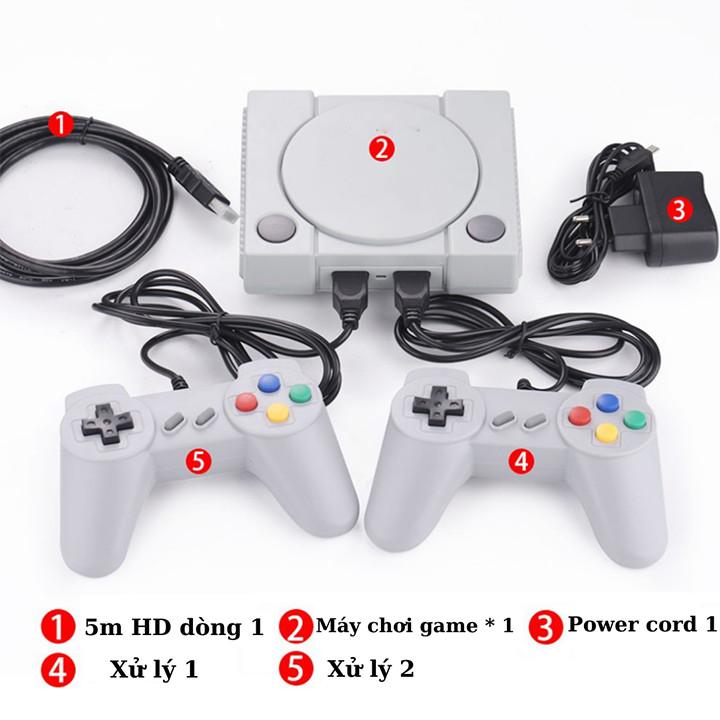 Máy Chơi Game Cầm Tay Mini 4 Nút 2 người chơi 628+20 Trò HDMI - MCG Kết Nối Tivi Hình Ảnh Siêu Sắc Nét