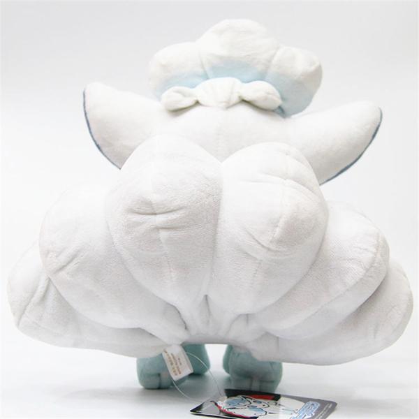 Gấu Bông Pokemon Vulpix - Cáo Trắng (30 Cm, Không Tính Đuôi) Gb131 (Tặng 1 Dụng Cụ Khui Dừa Siêu Nhanh)