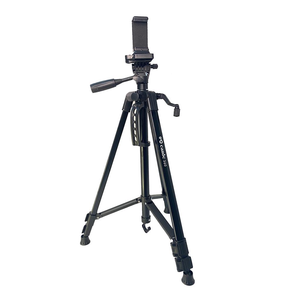 Chân đế tripod cho điện thoại và máy ảnh DC-360 chất liệu hợp kim nhôm chắc chắn - Có túi đựng và remote bluetooth