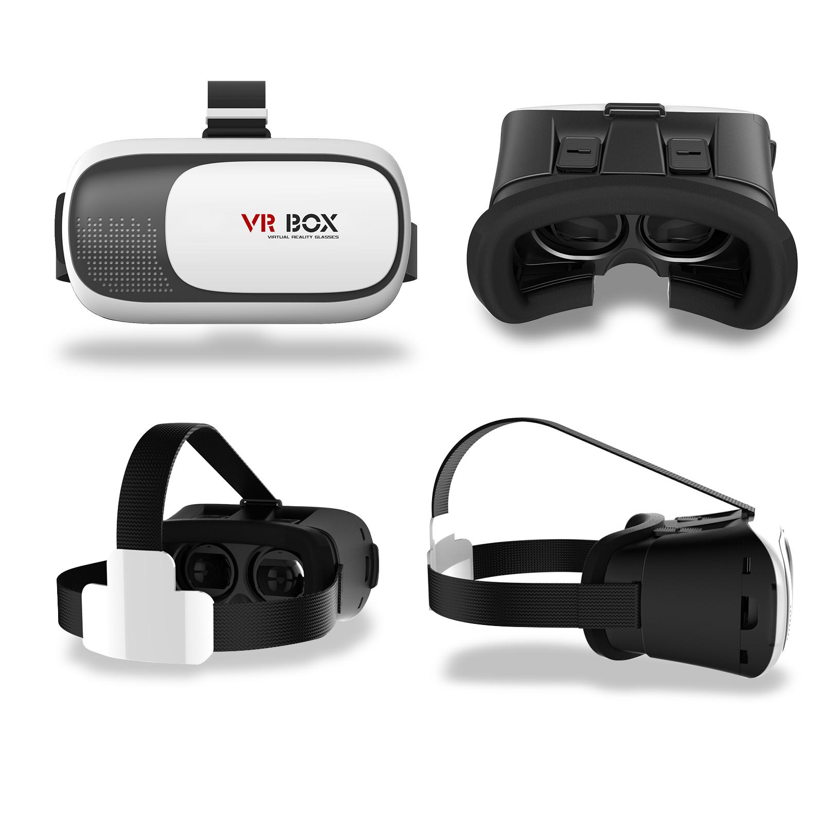 Kính Thực Tế Ảo VR BOX Trắng Cao Cấp AZONE - Hàng Nhập Khẩu