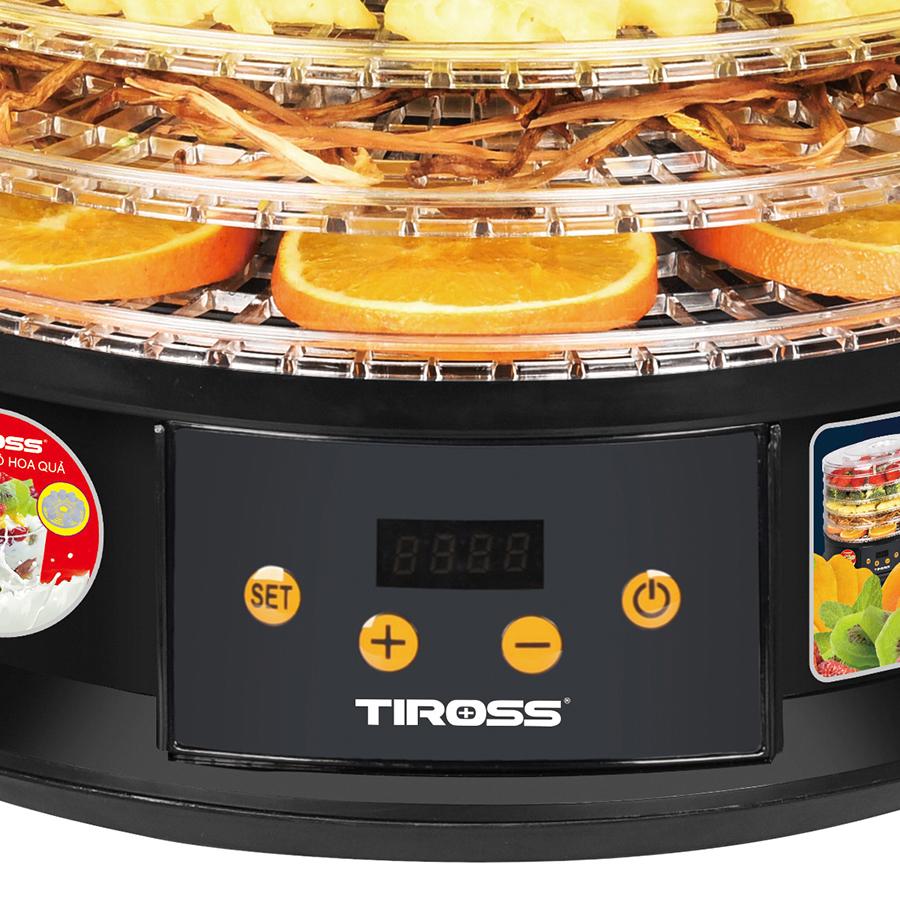 Máy Sấy Thực Phẩm - Làm Sữa Chua Tiross TS9682 (250W) - Hàng chính hãng