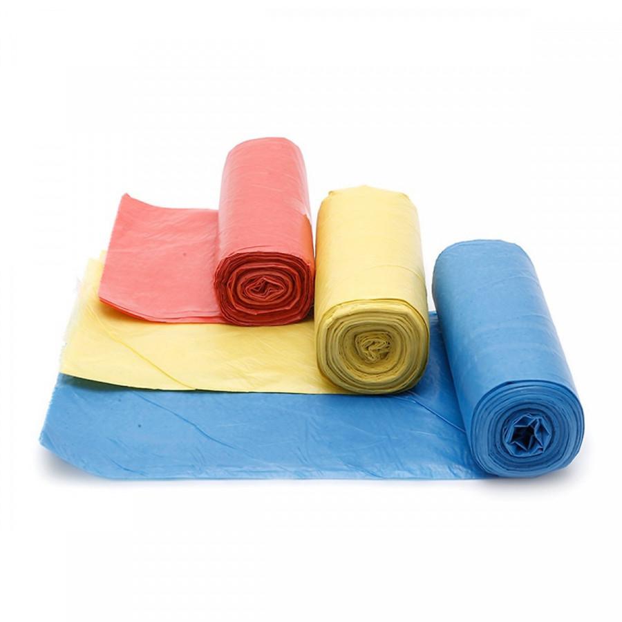 1 Kg túi đựng rác phân hủy (3 cuộn khác màu) size 55 x 65 cm