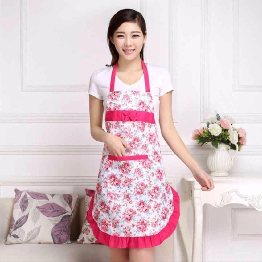 Tạp dề nhà bếp thời trang Hàn Quốc BB01