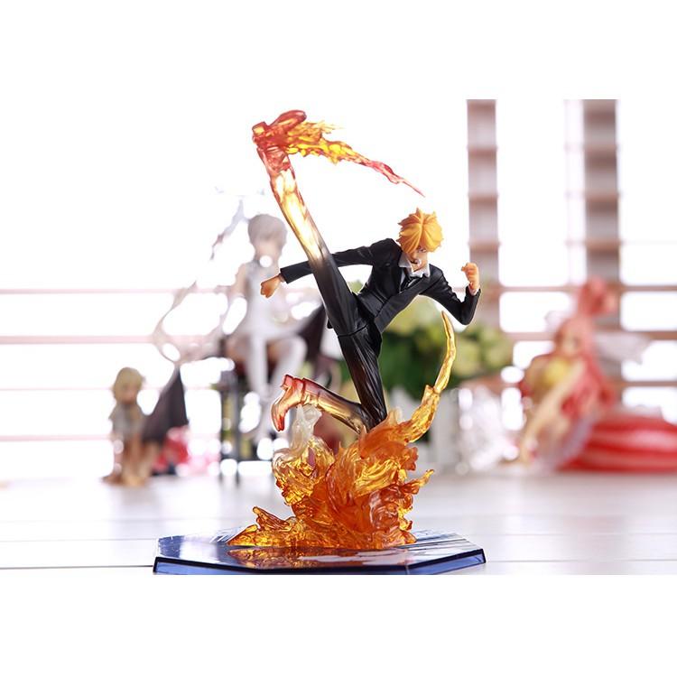 Mô Hình One Piece Nhân Vật Sanjj Chân Đen - Cao 16cm Có Hộp