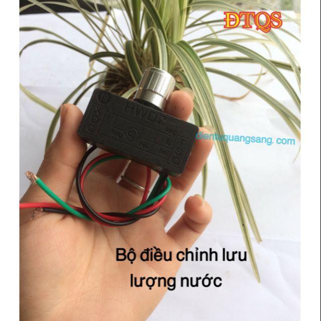 CHIẾT ÁP, bộ ĐIỀU TỐC  cho máy bơm mini và bình phun điện
