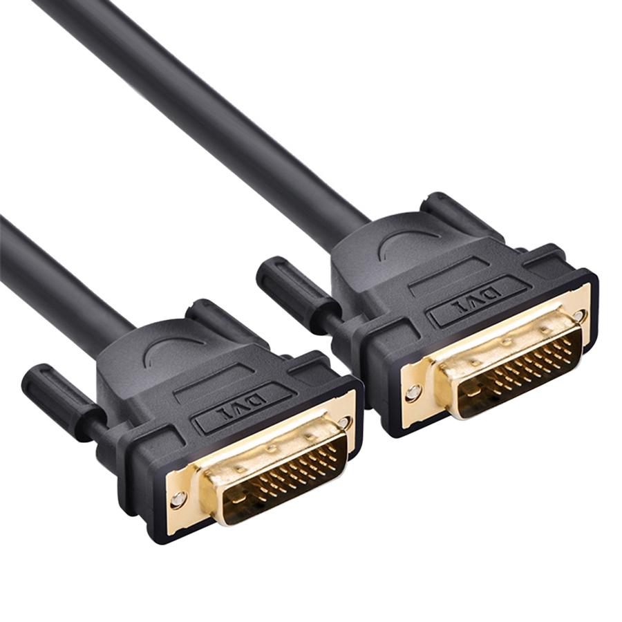 Cáp DVI To DVI 24+1 Ugreen DV101 11603 (15m) - Đen - Hàng Chính Hãng