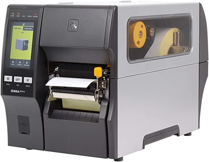 Máy in tem nhãn mã vạch công nghiệp Zebra ZT411 - 203dpi - Hàng chính hãng, có CO/CQ
