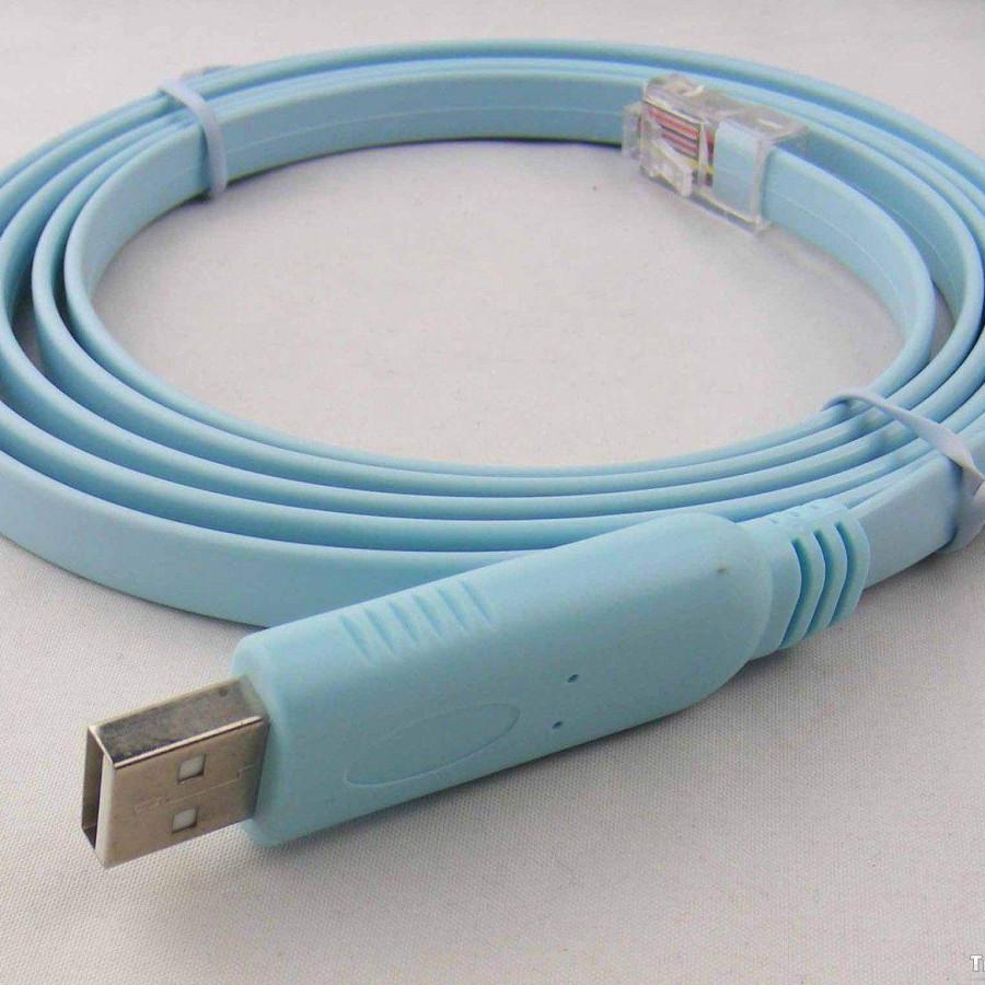 Dây cáp cấu hình Cisco USB TO RJ45 FTDI  nhập khẩu