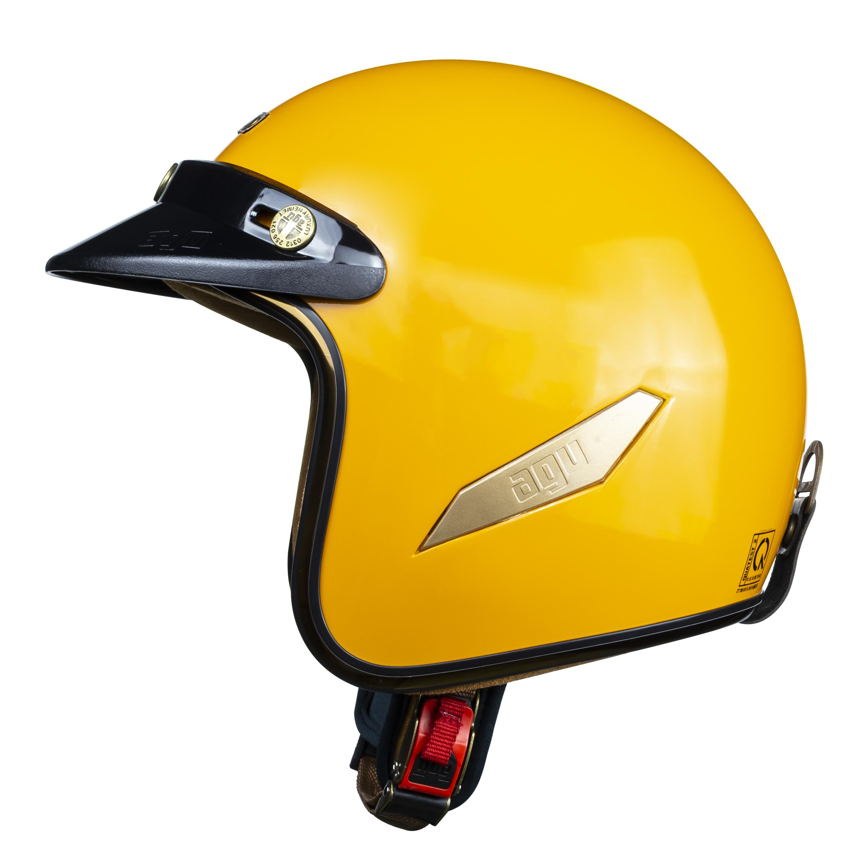 Nón bảo hiểm 3/4 AGU 130 Cam
