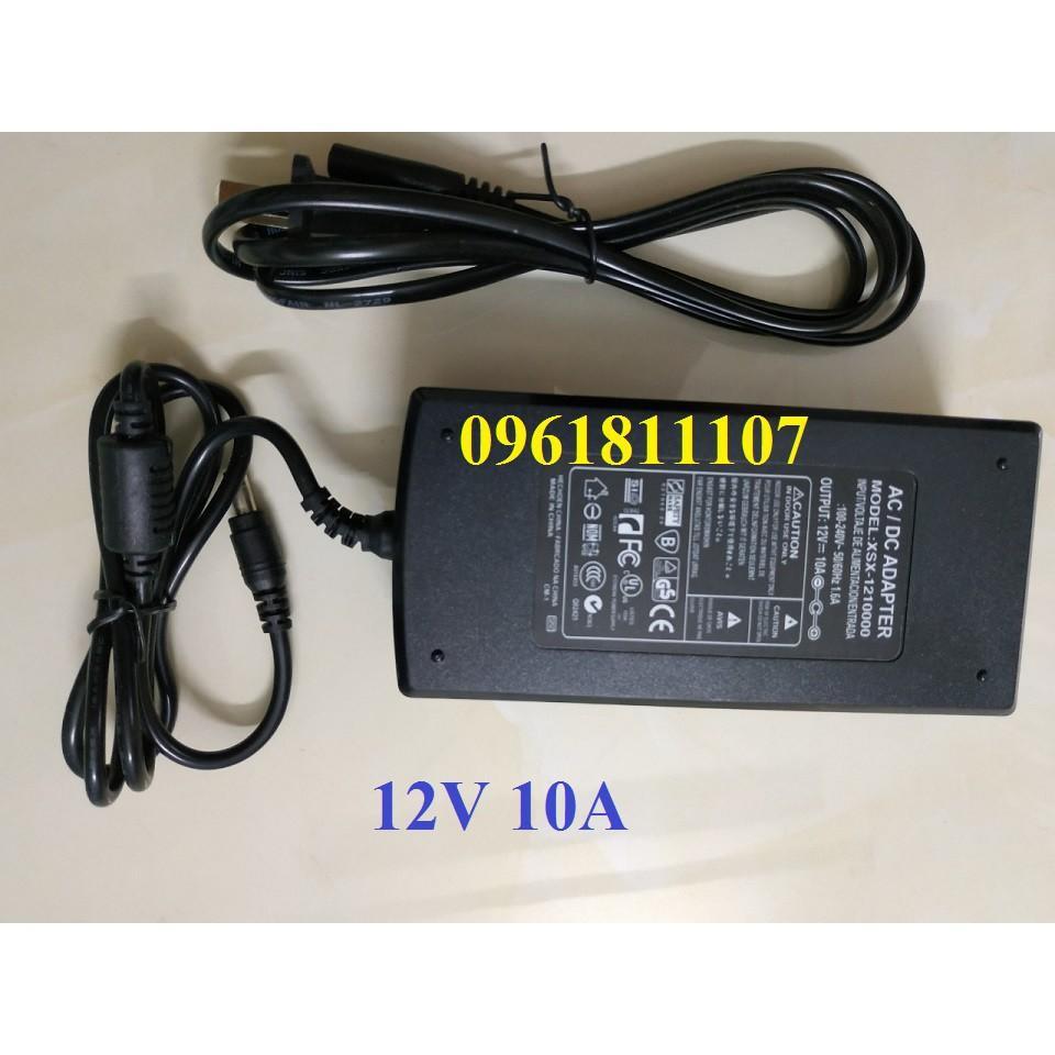 Adapter 12V 10A dùng cho led