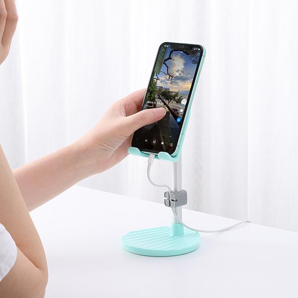 Giá đỡ điện thoại máy tính bảng ROBOT US08 phù hợp màn hình 8 inch Nhỏ gọn và tiện lợi - Hàng chính hãng