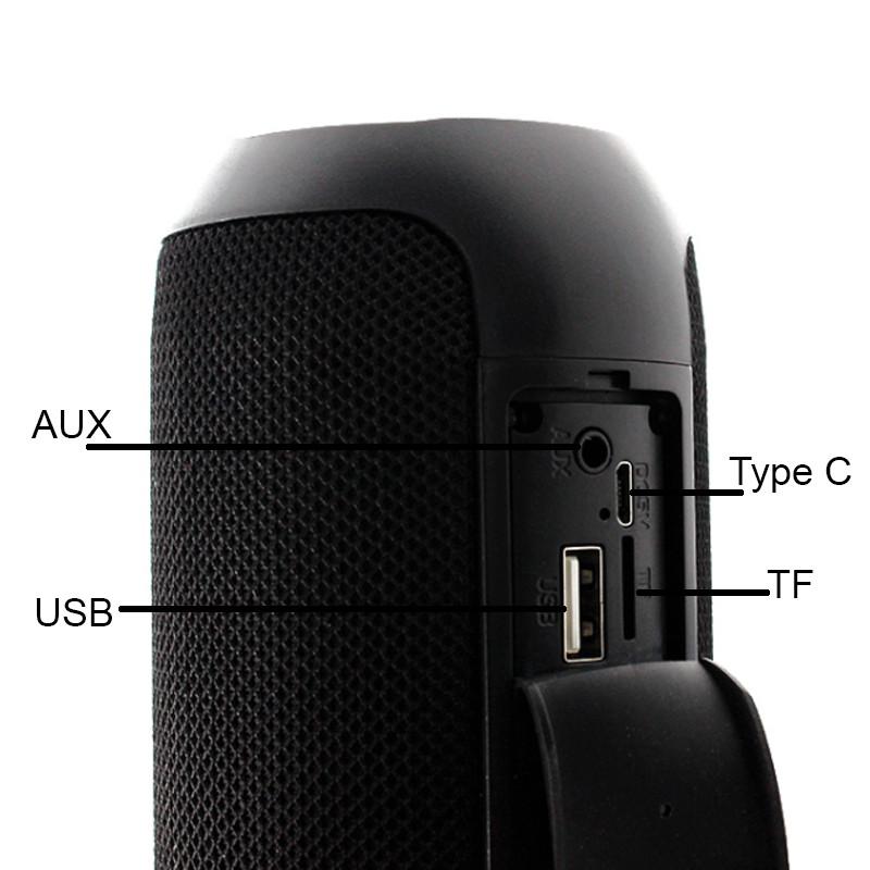 Loa Bluetooth Không Dây Kết Nối Bluetooth Phát Nhạc Qua Bluetooth, USB, Thẻ Nhớ - Hàng Chính Hãng PKCB