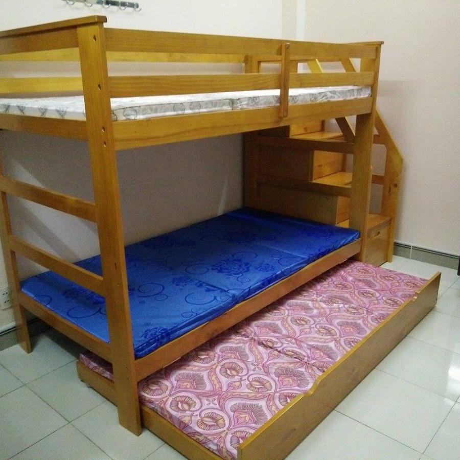 Giường Tầng UNI165-OAK