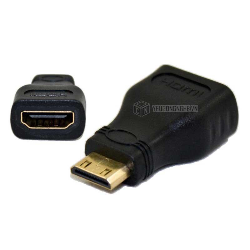 ĐẦU CHUYỂN MINI HDMI RA HDMI