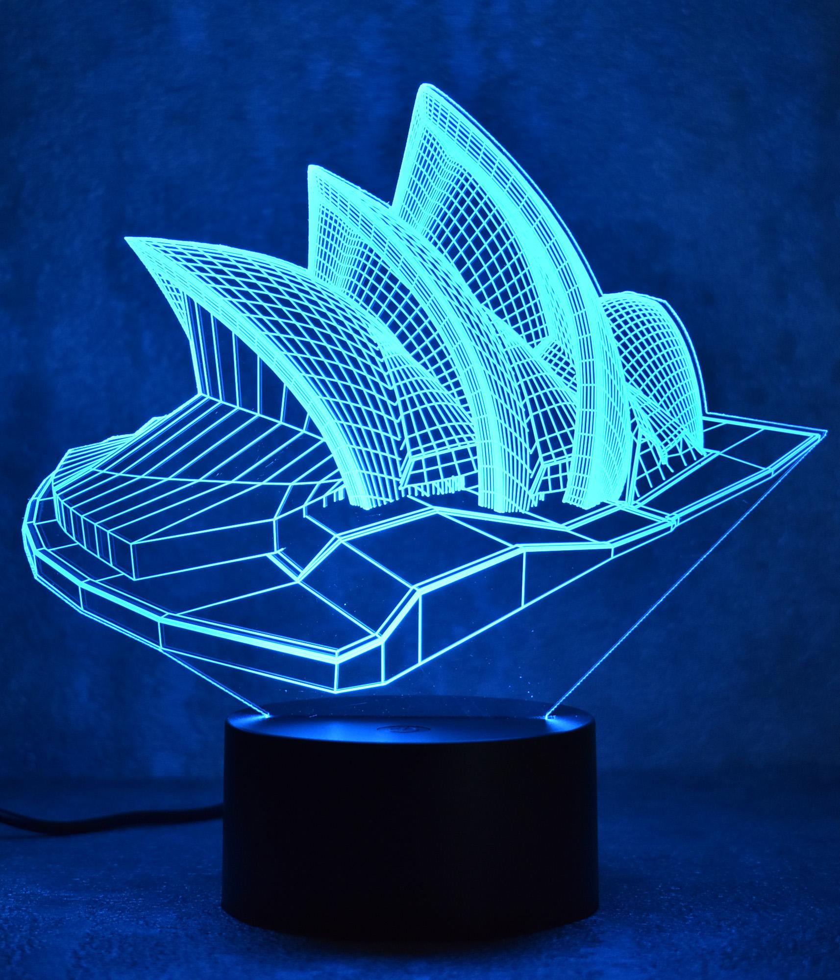 Đèn ngủ 3D - Nhà hát Sydney