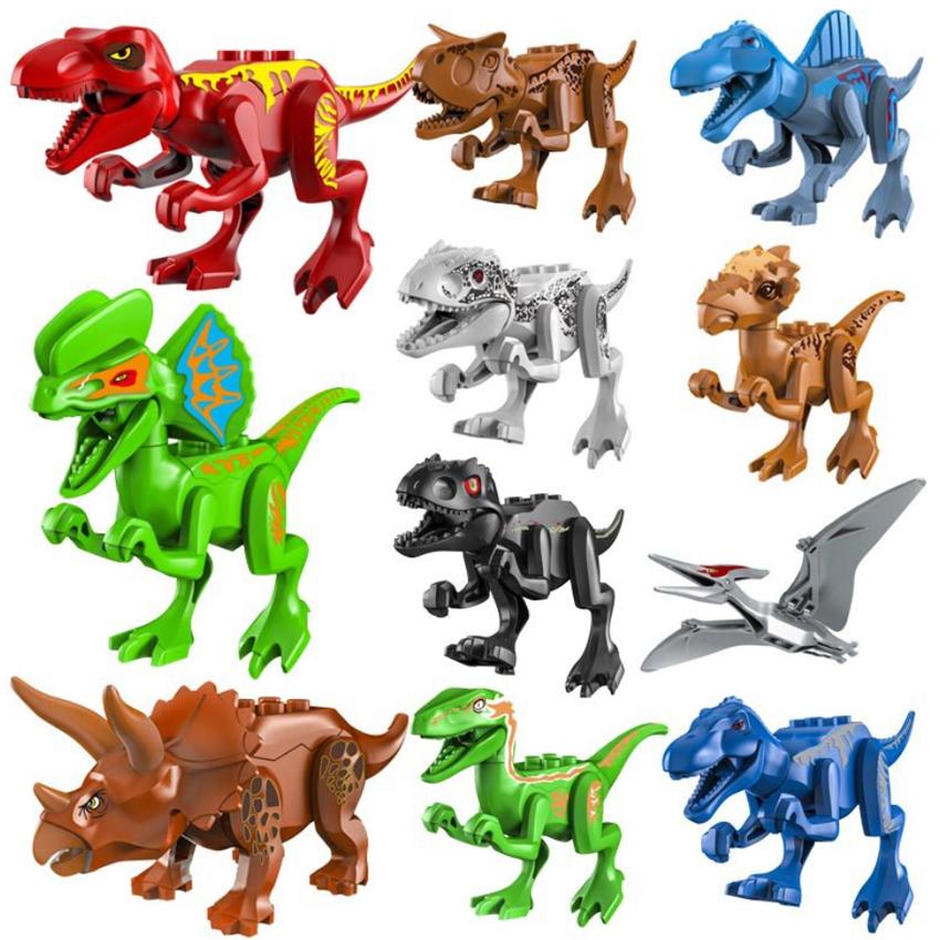 Mô Hình Đồ Chơi Khủng Long New4all Dinosauria Nhựa Nguyên Sinh An Toàn Cho Bé (Bộ 12 Khủng Long)
