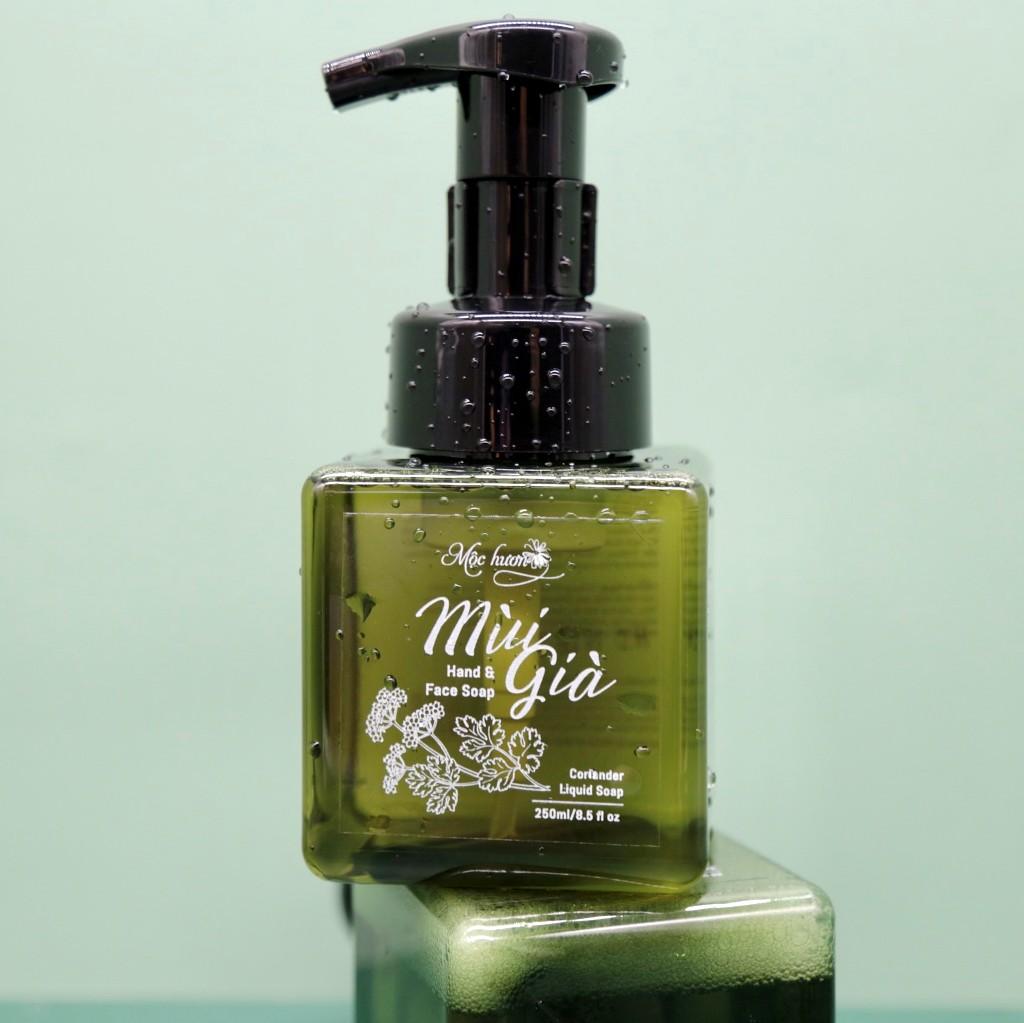 Sữa rửa tay và mặt Mùi già (Hand & Face Soap Mùi già tạo bọt) làm sáng, săn chắc, chống lão hóa da - 250ml