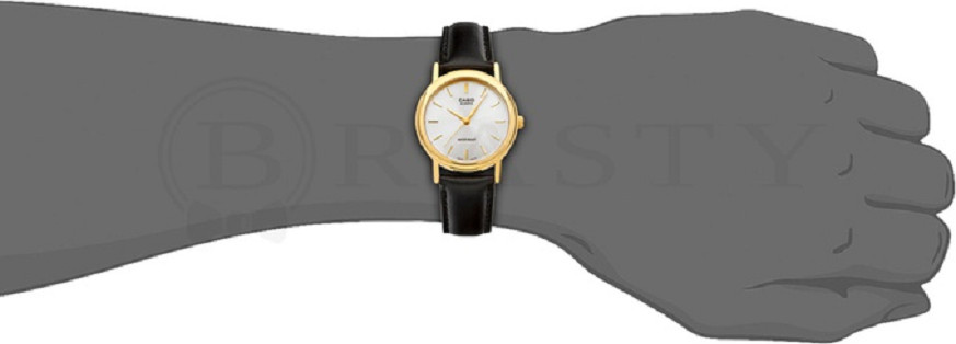 Đồng hồ Casio nam dây da MTP-1095Q-7A (34mm)