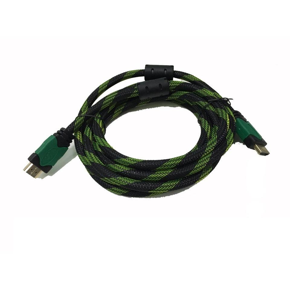 CÁP HDMI KM 3m (1.4) 03504 dây lưới-hàng chính hãng