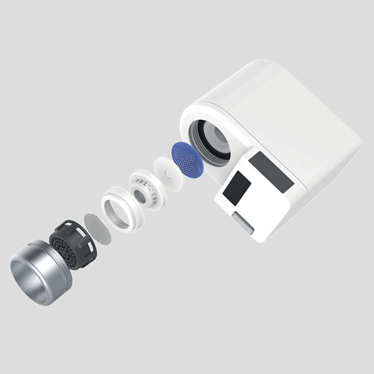 Van khóa nước cảm ứng thông minh ZaJia tự động đóng mở vòi nước - Hàng nhập khẩu