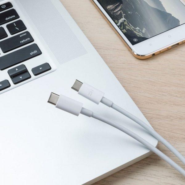 Cáp Xiaomi ZMI USB-C to USB-C - AL301 Dài 1.5m - Hàng Nhập Khẩu