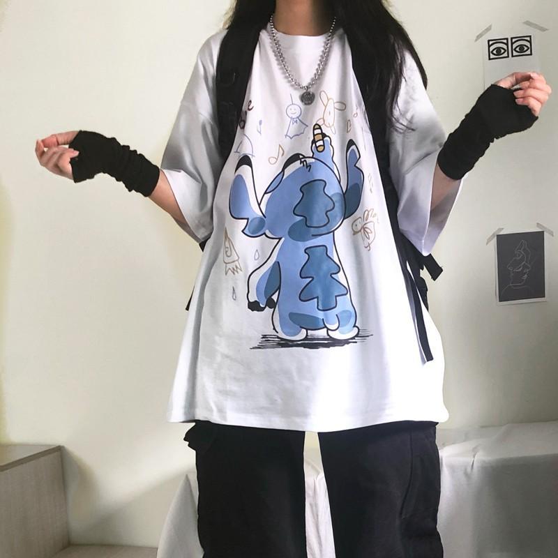 Áo thun nữ form rộng, áo phông tay lỡ ATL219
