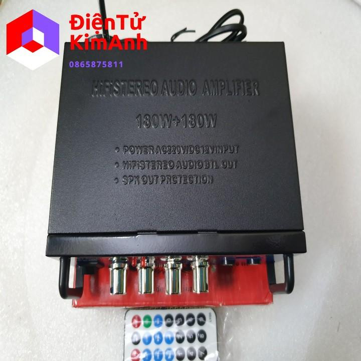 Ampli mini karaoke AV-136BT