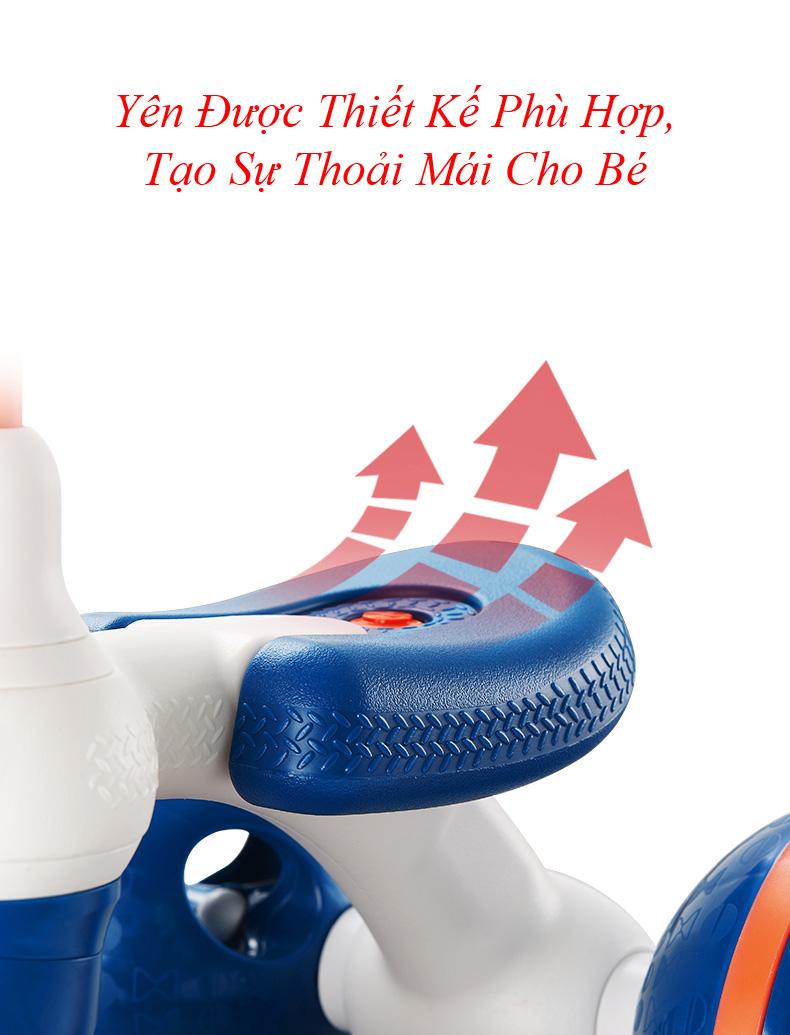 Xe Đạp Mini 3 Bánh Cho Bé - Crowned Love
