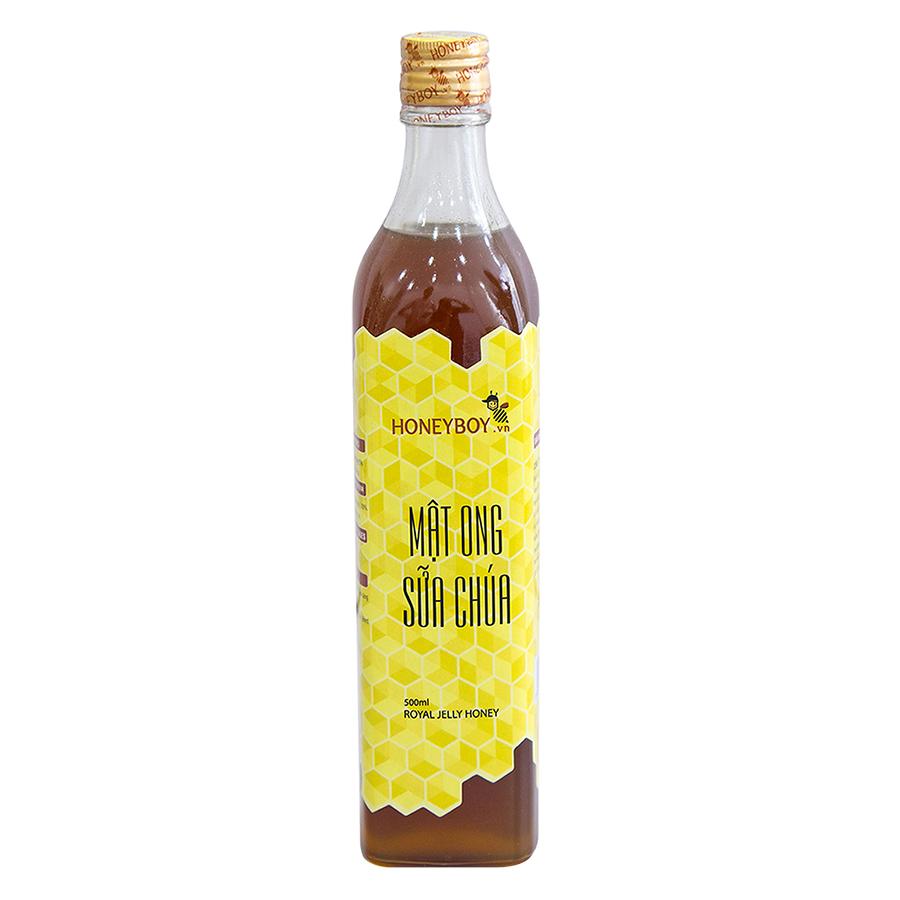 Combo Thực Phẩm Chức Năng Mật Ong Thô Honeyboy (1L) Và Mật Ong Sữa Chúa Honeyboy (500ml) - Tặng Nghệ Mật Ong Honeyboy (80g)