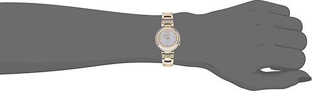 Đồng Hồ Nữ Citizen Dây Thép Không Gỉ EM0336-59D - Mặt Xà Cừ (Sapphire)