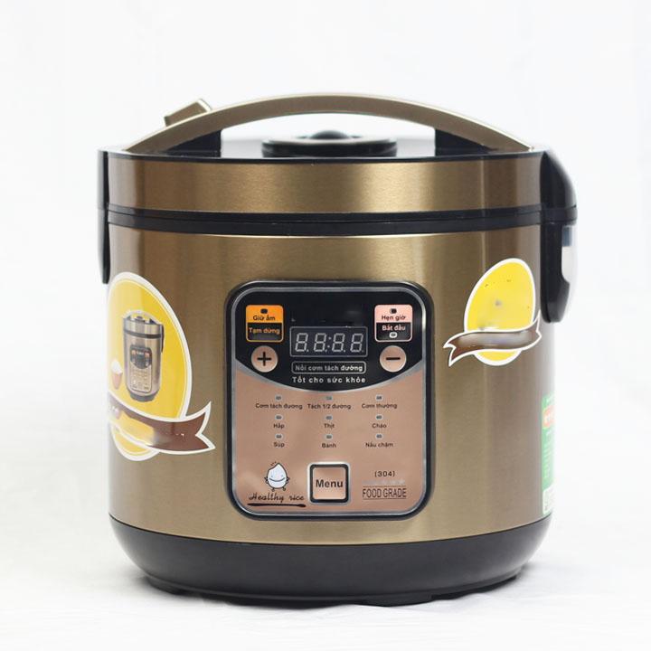 Nồi cơm điện loại bỏ đường trong quá trình nấu cơm - tách đường