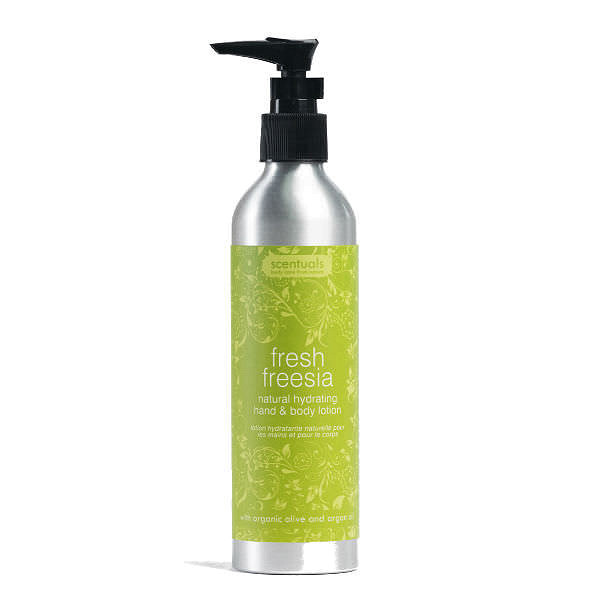 Sữa Dưỡng Thể Hoa Lan Fresh Freesia Natural Hydrating Hand & Body Lotion Scentuals (250ml)