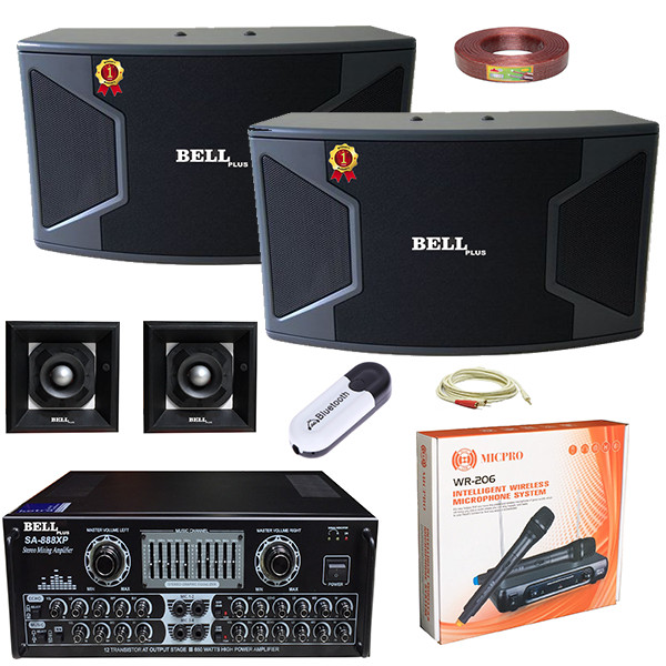 Dàn karaoke gia đình SA - 999XS BellPlus (hàng chính hãng)