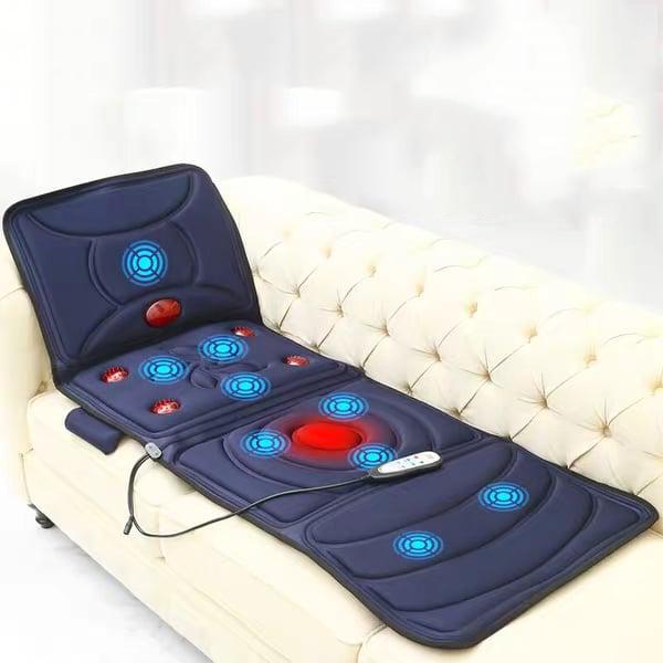 Nệm Massage Hồng Ngoại, Có Thể Gấp Gọn, Tác Động Lên 9 Điểm Giúp Thư Giãn Và Xua Tan Mệt Mỏi
