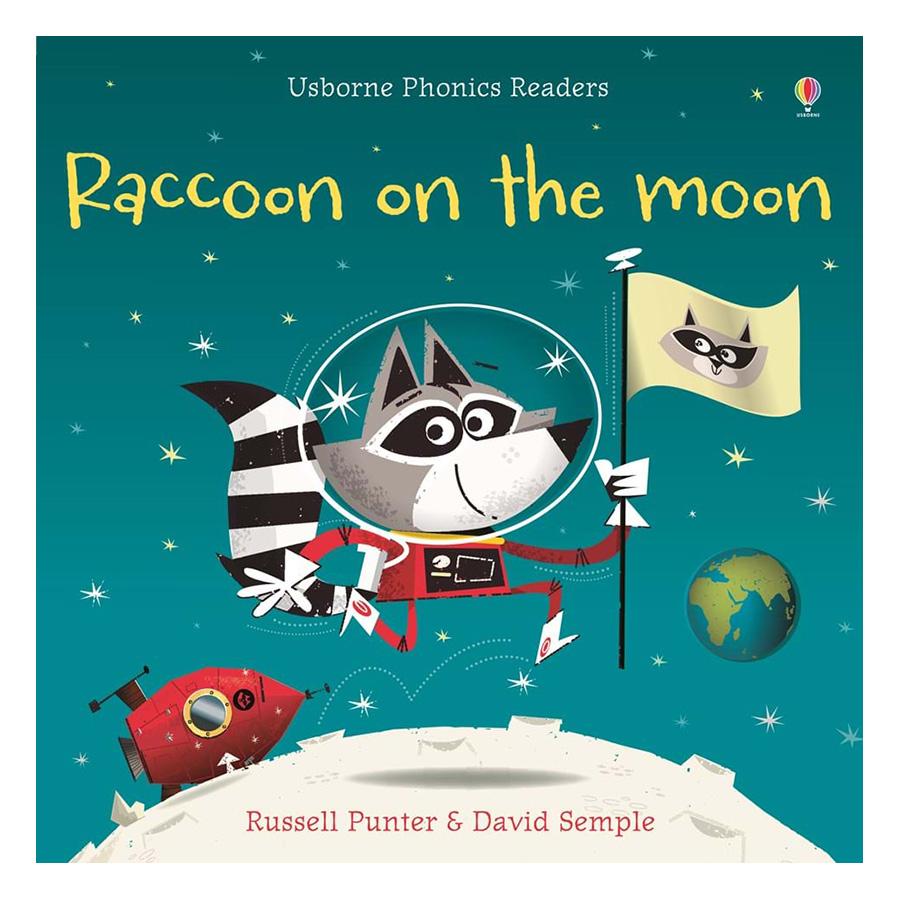 Usborne Racoon on the moon