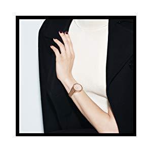 Anne Klein Women s AK 3290LPST Gold-Tone Bangle Watch and Swarovski Crystal Accented Bracelet Set 4