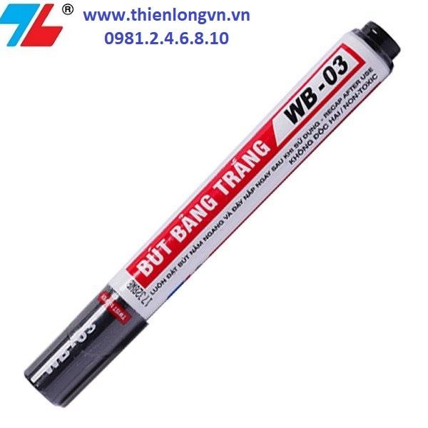 Bút lông bảng to Thiên Long; WB-03 mực đen
