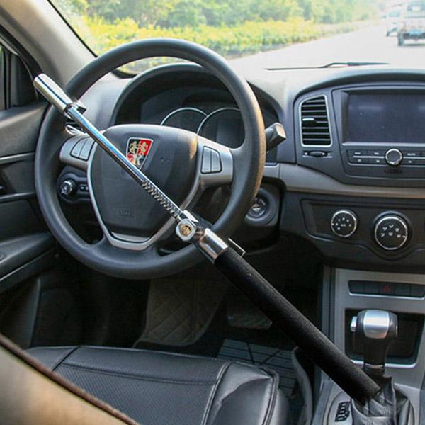 Khóa vô lăng chống trộm kiêm búa thoát hiểm xe hơi/ ô tô