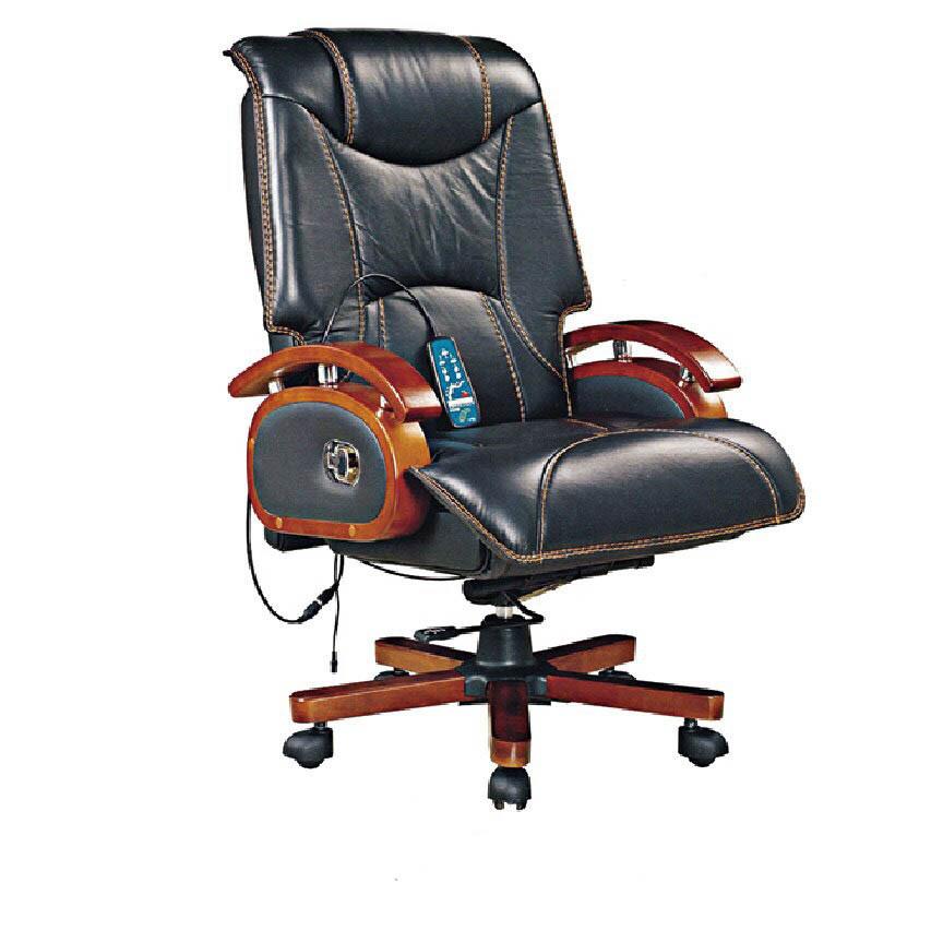Ghế làm việc massage nhập khẩu cao cấp RC013 đen