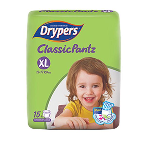 Tã Quần Drypers ClassicPantz XL15 15 Miếng