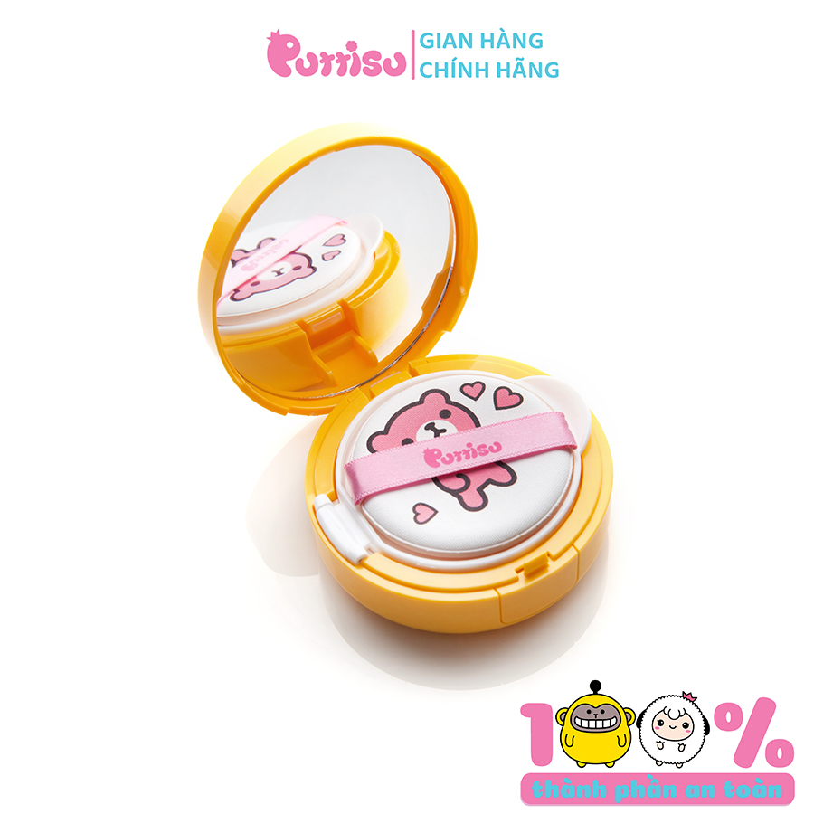 Phấn nước chống nắng Puttisu Safe Baby Mild Sun SPF50+ PA++++ 15g