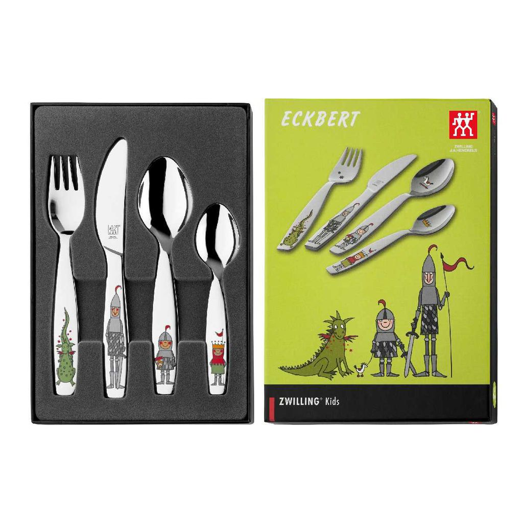 Bộ muỗng nĩa trẻ em Eckbert Children's flatware ZWILLING - 4 món