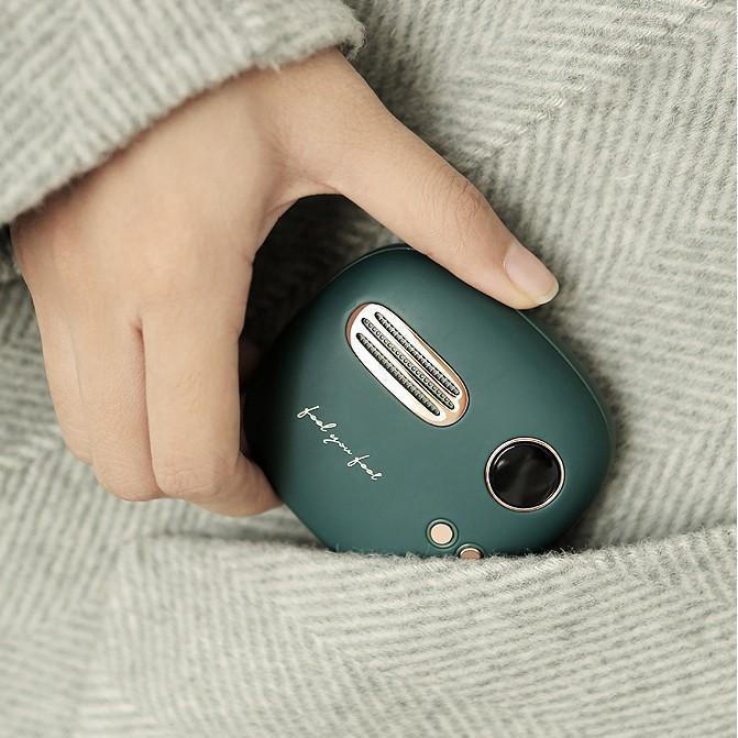 Máy sưởi ấm mini cầm tay kiêm sạc dự phòng OME Liberfeel T-40