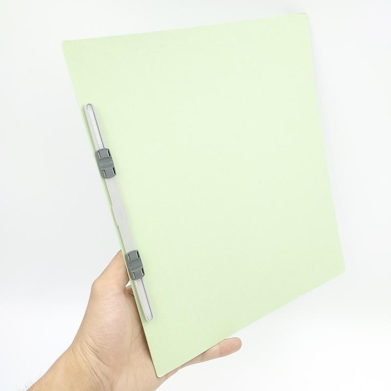 Bộ 3 Bìa Giấy Flat File A4S-Green 78-036ND
