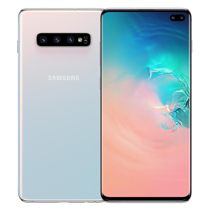 Điện Thoại Samsung Galaxy S10 Plus 128GB8GB- Hàng Chính Hãng Đã Kích Hoạt Bảo Hành 12 Tháng - Trắng Pha Lê