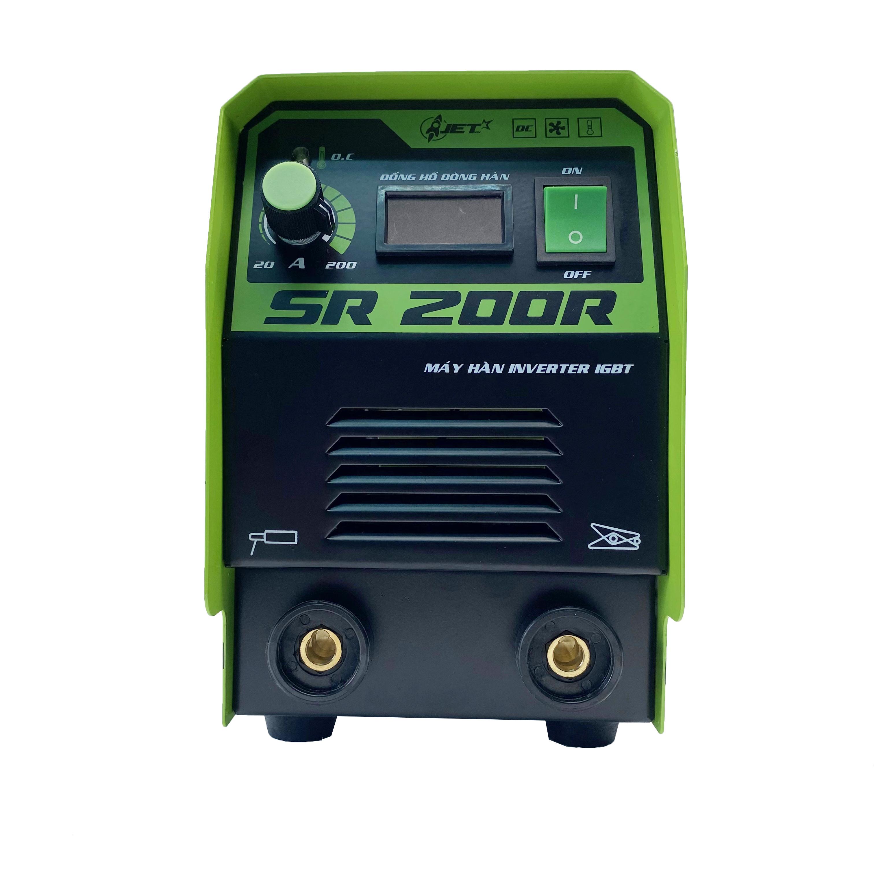 Máy hàn điện tử cao cấp Hồng Ký SR-200R - Hàn que 1.6-3.2 ly