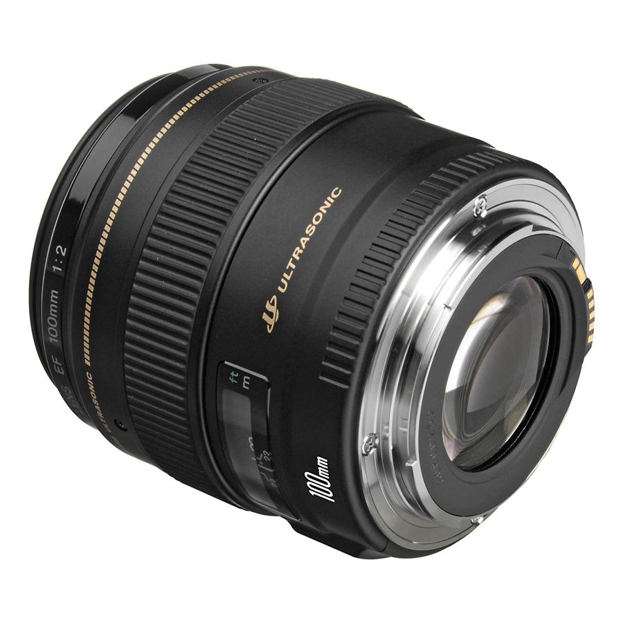 Lens Canon EF 100mm f/2.0 USM - Hàng Chính Hãng