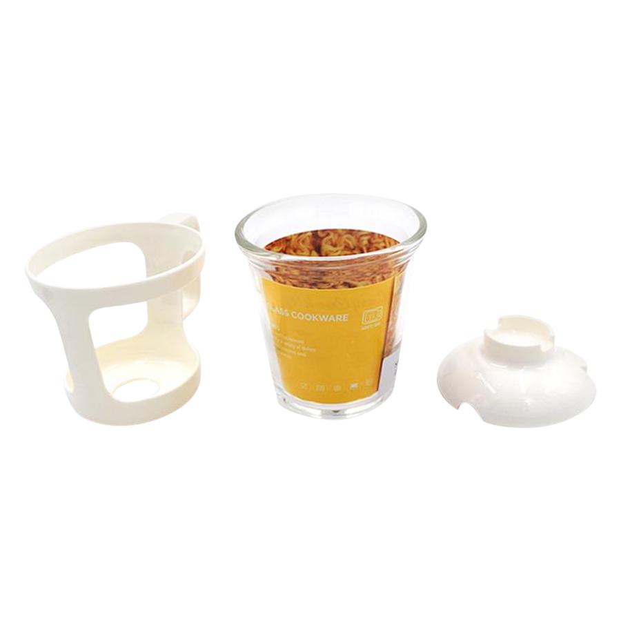Hộp Đựng Thức Ăn Thủy Tinh Tiện Lợi Lock&Lock Easy Cook Ramen Cup LLG480 (550ml)