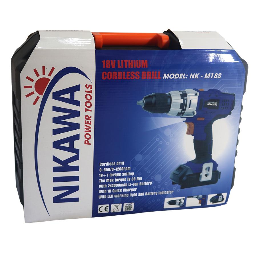 Máy khoan không dây Nikawa NK-M18SM