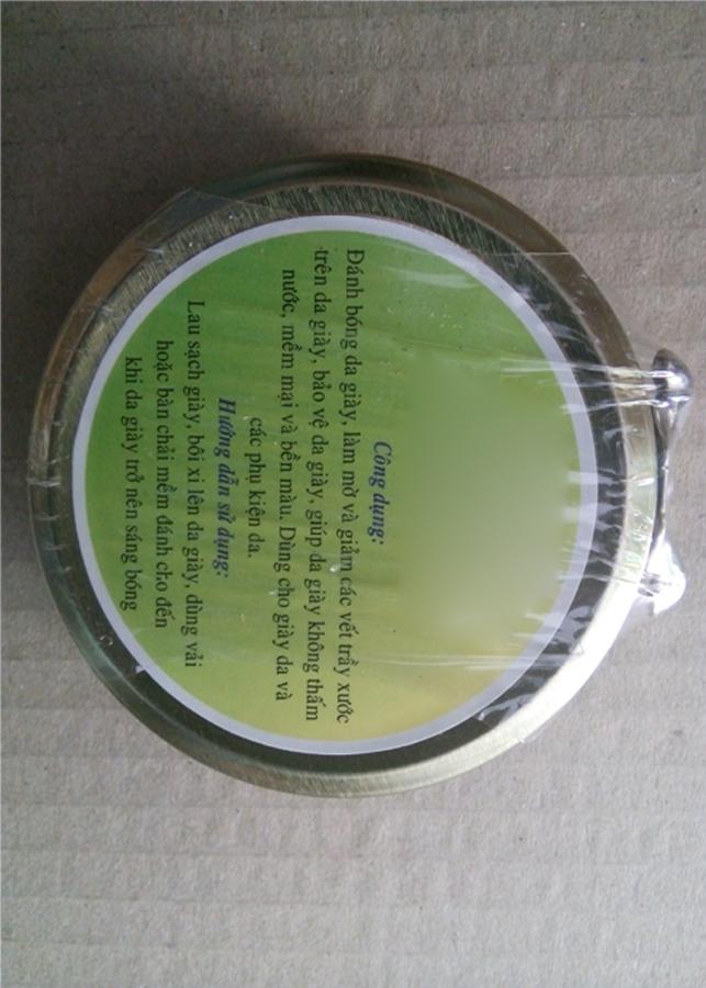 Xi Đánh Bóng Giày Dép Dạng Canar TC03409